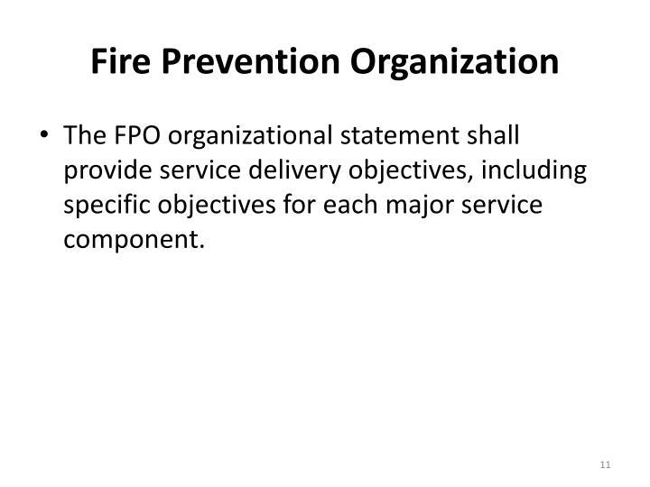Fire Prevention Organization