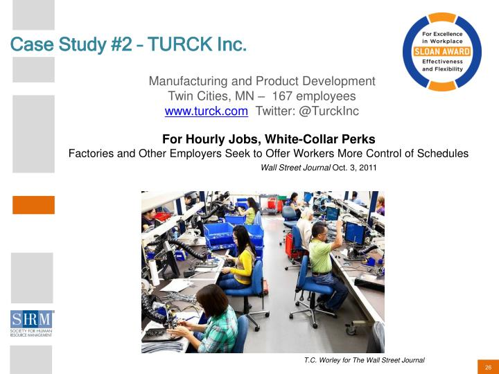 Case Study #2 – TURCK Inc.