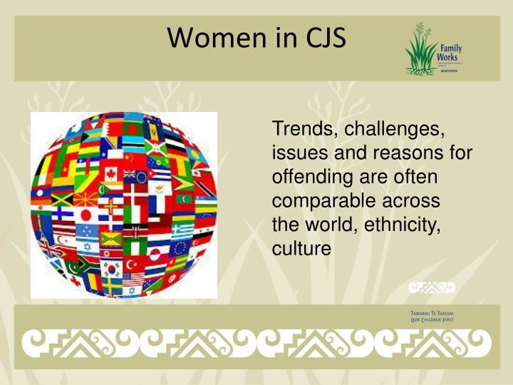 Women in CJS