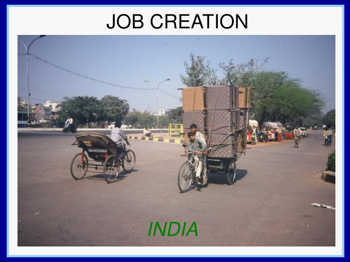 JOB CREATION