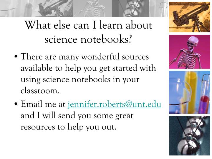 There are many wonderful sources available to help you get started with using science notebooks in your classroom.