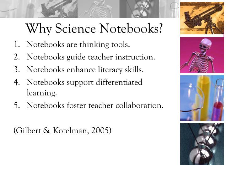 Why Science Notebooks?