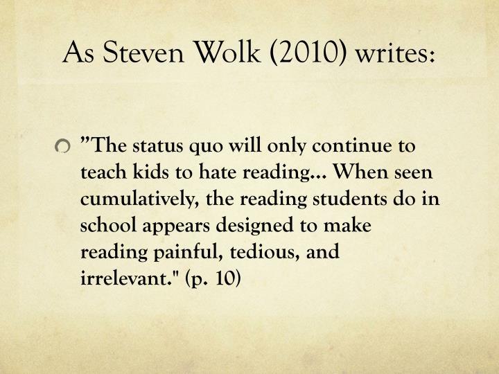 As Steven