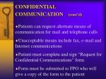 confidential communication cont d1
