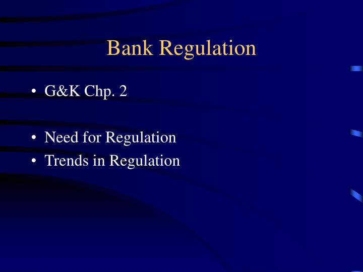 Bank regulation1