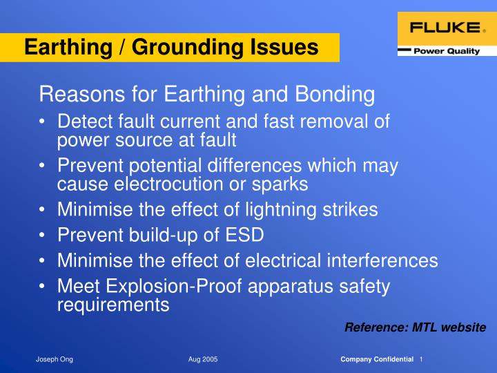 earthing grounding issues n.