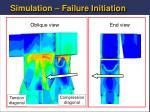 simulation failure initiation