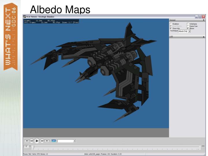 Albedo Maps