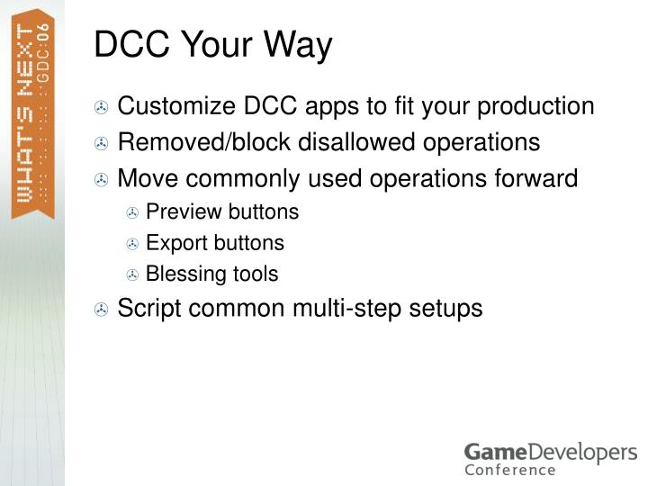 DCC Your Way