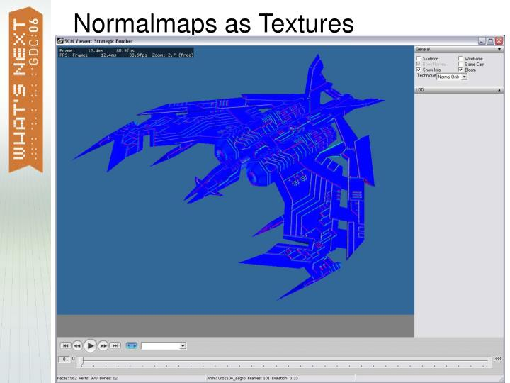 Normalmaps as Textures