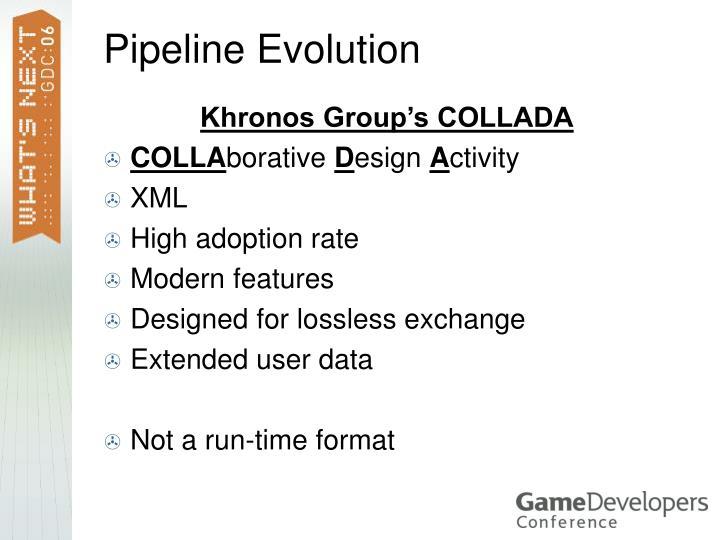 Pipeline Evolution