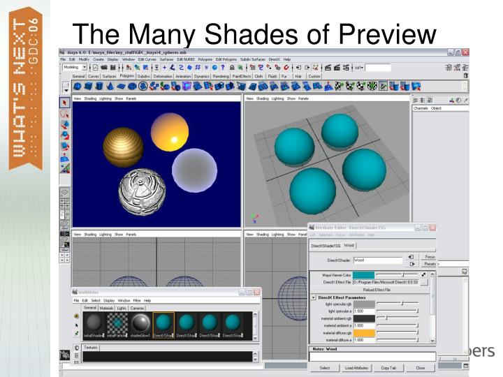 The Many Shades of Preview