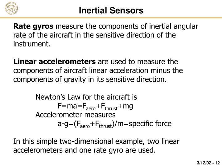Inertial Sensors