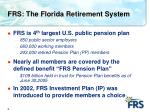frs the florida retirement system
