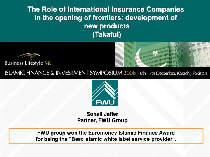 The Role of International Insurance Companies