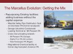 the marcellus evolution getting the mix