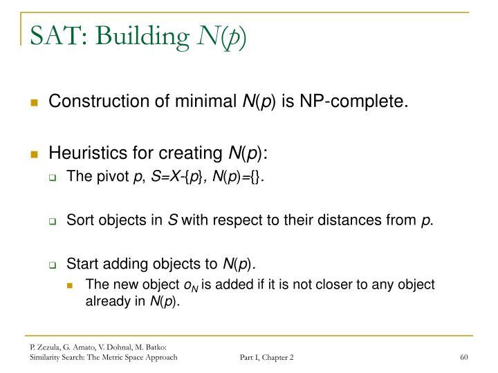 SAT: Building