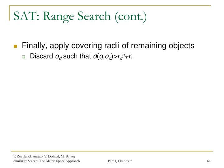 SAT: Range Search (cont.)