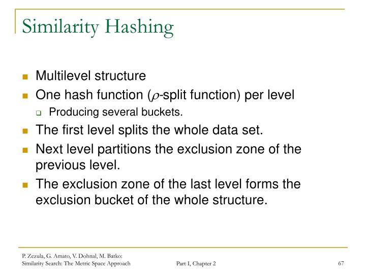 Similarity Hashing