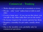 commercial trunking