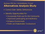 buckeye frs no 1 rehabilitation project alternatives analysis study