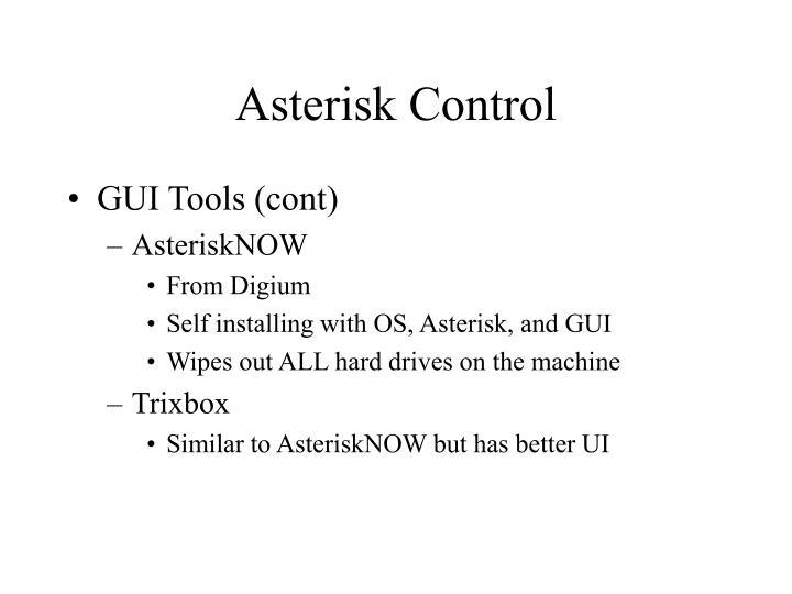 Asterisk Control