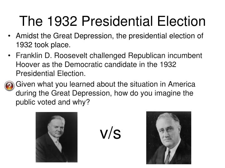 franklin roosevelt s response to the great depression dbq Ap us history fdr dbq topics: franklin d franklin d roosevelt responded to the problems of the great depression with an optimistic mindset roosevelt took the.