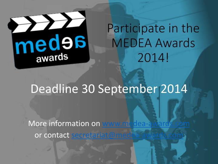 Participate in the