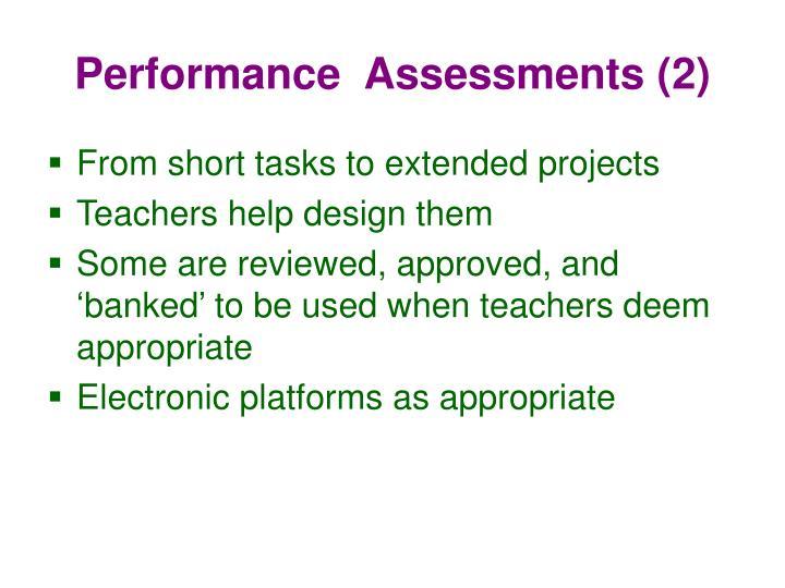 Performance  Assessments (2)