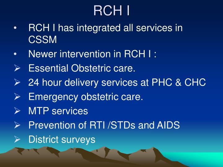 RCH I