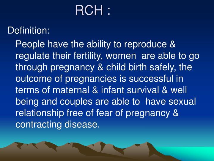 RCH :