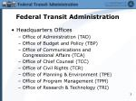 federal transit administration1
