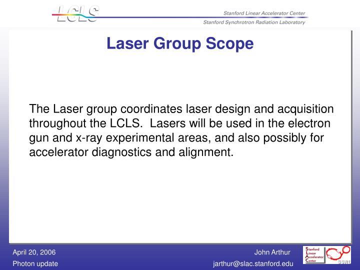 Laser Group Scope