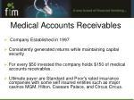 medical accounts receivables