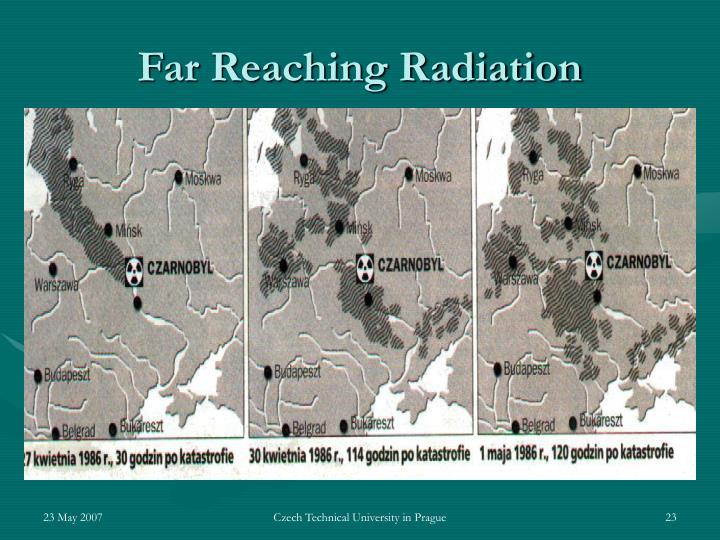 Far Reaching Radiation