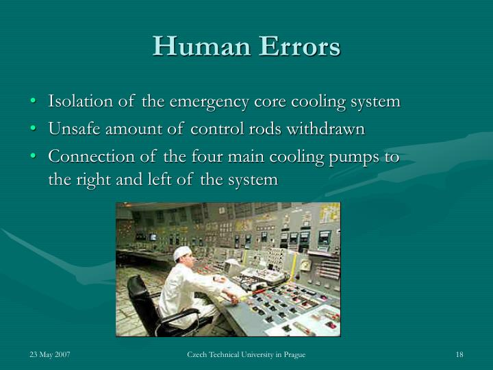 Isolation of the emergency core cooling system