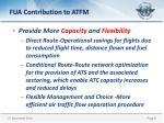 fua contribution to atfm