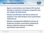 fua contribution to atfm1