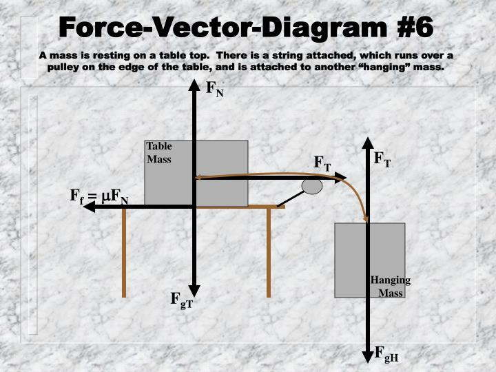 Force vector diagram 6 the very last one yeah