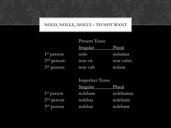 Nolo,