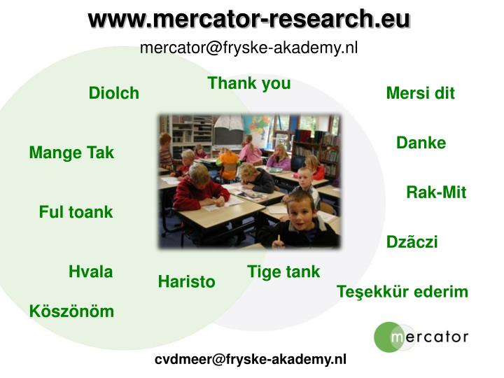 www.mercator-research.eu