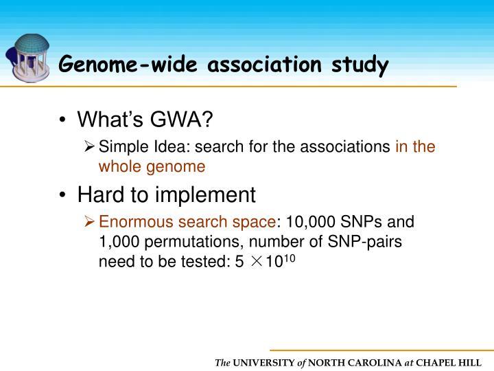 Genome-wide association study