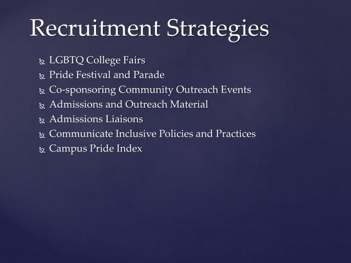LGBTQ College Fairs