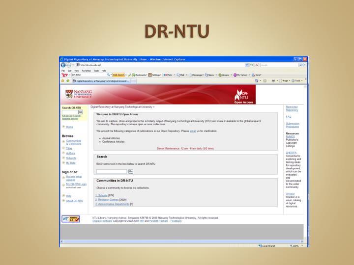 DR-NTU