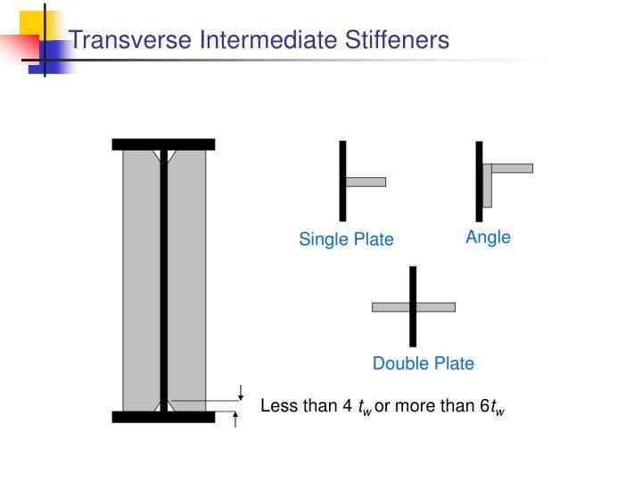 Transverse Intermediate Stiffeners