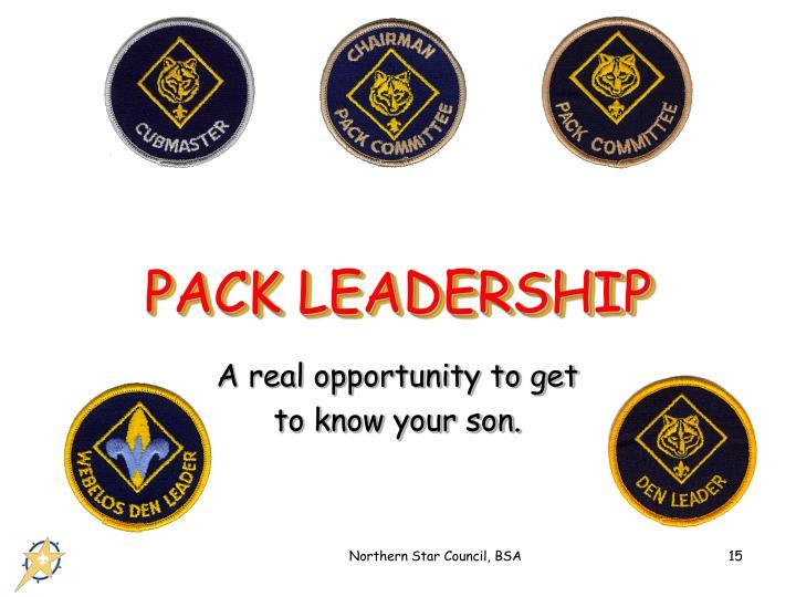PACK LEADERSHIP
