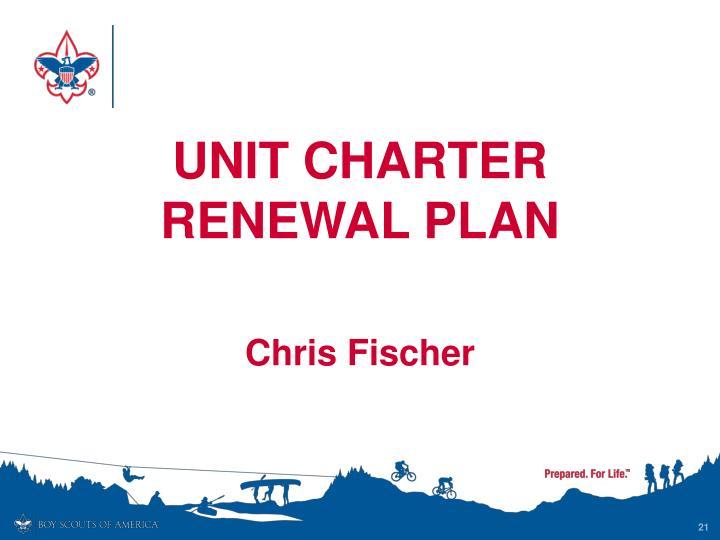 Unit Charter Renewal