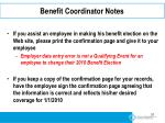 benefit coordinator notes2