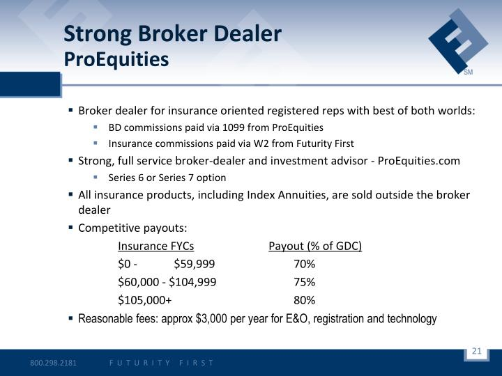Strong Broker Dealer