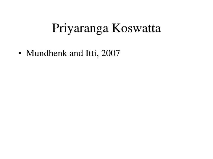 Priyaranga koswatta